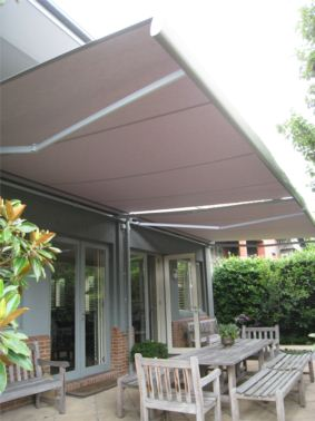 Aluxor Semi Cassette Awning Stratos 3 Folding Arm