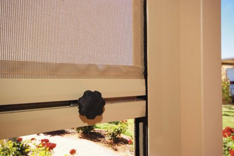 Outdoor Chanel Blinds