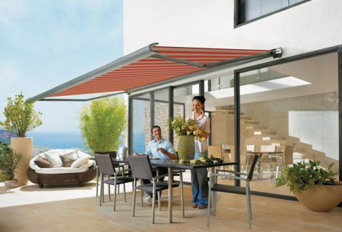 Markilux 990 Folding Arm Awning